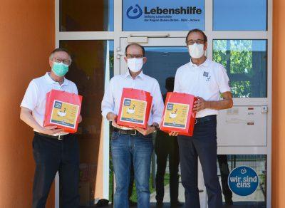 Atemschutzmasken-Spende